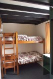 Bunk beds in the D type cottages